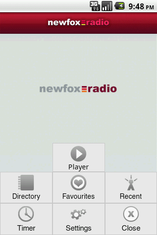Newfox Radio - screenshot