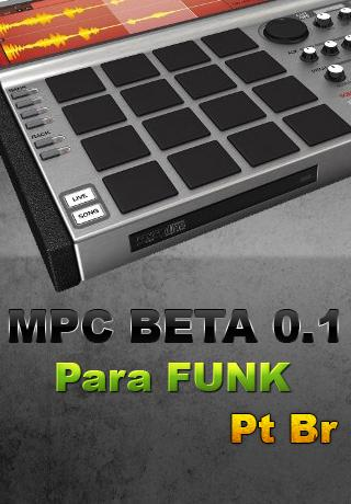 MPC DE FUNK DJ VERSÃO BETA - screenshot