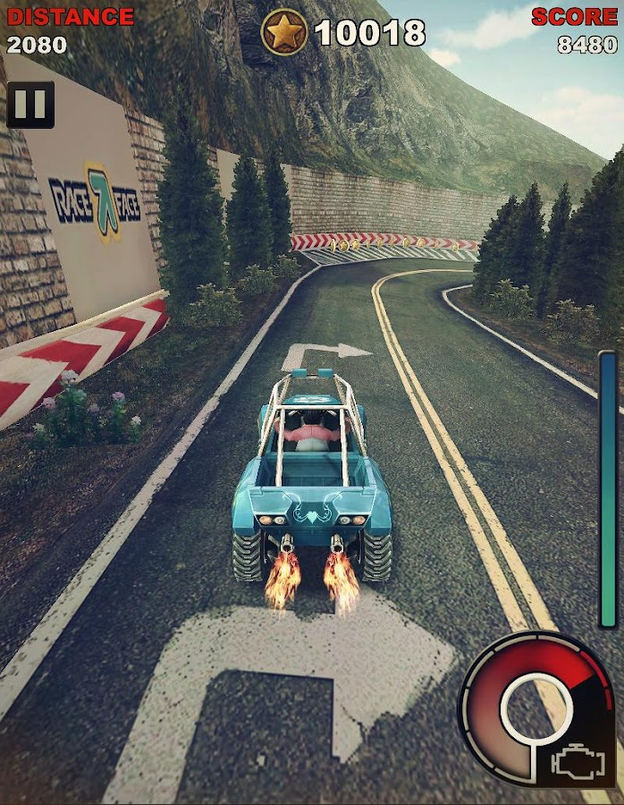 MOTO STRIKER HD- screenshot
