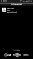 Screenshot of Radio Time