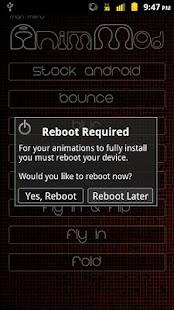 玩個人化App|Anim Mod *Root*免費|APP試玩