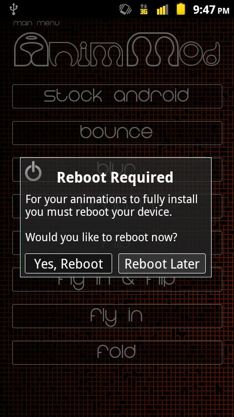 Anim Mod *Root* - screenshot