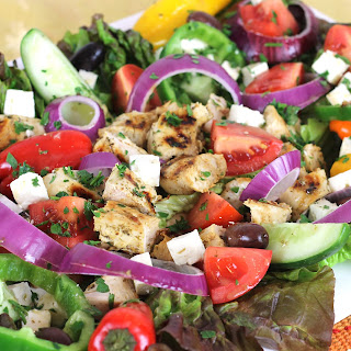 Greek Isles Grilled Chicken Salad