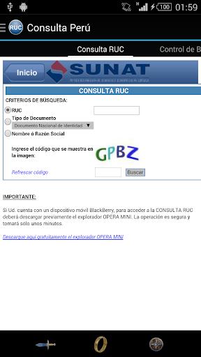 Consulta Perú
