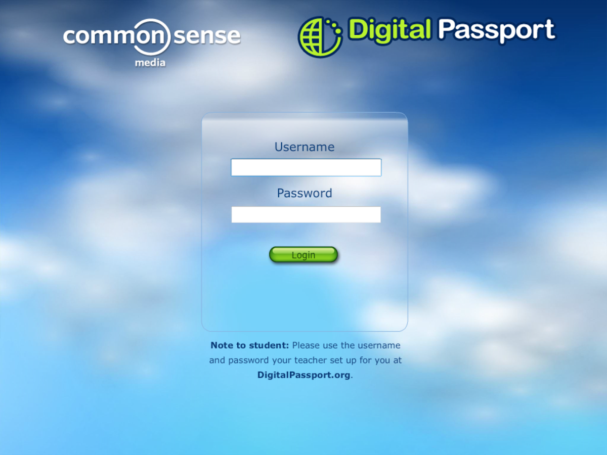 Digital Passport Classroom Ed. - screenshot
