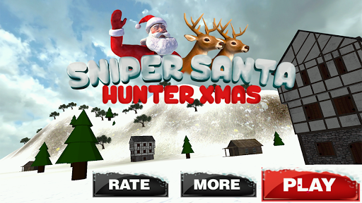 狙擊獵人聖誕老人聖誕3D