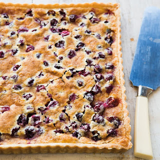 Cranberry Chess Tart