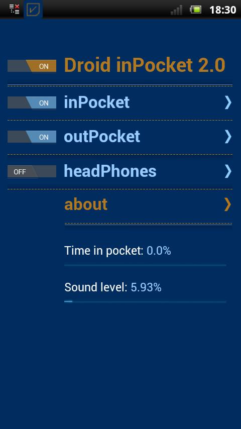 Droid inPocket Free- screenshot