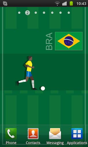 Brazil Soccer LWP