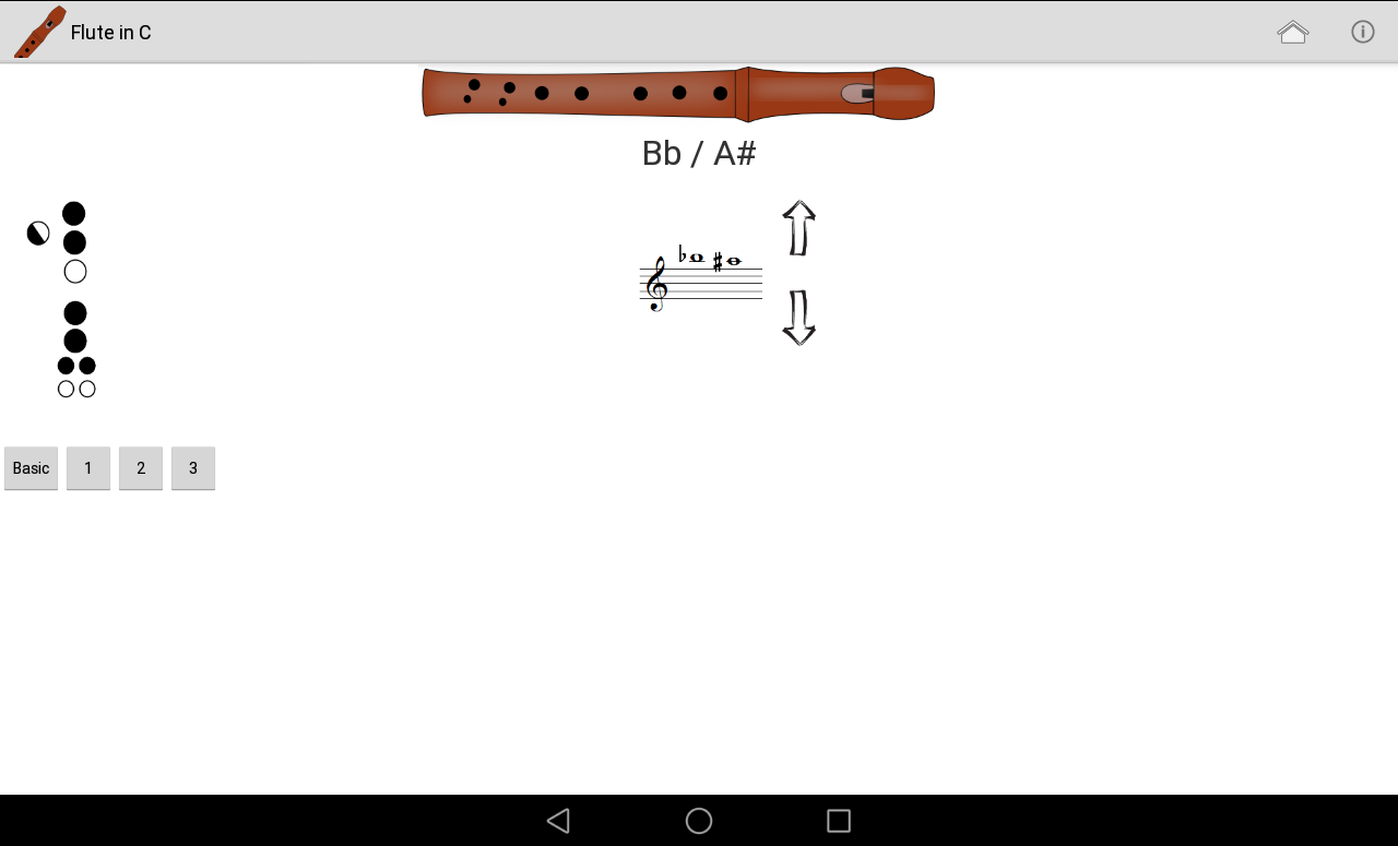 Recorder Fingering Chart Android Apps on Google Play – Recorder Finger Chart