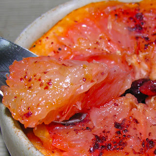 Rise And Shine Pink Grapefruit Brulee.