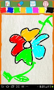กระดานวาดภาพสำหรับเด็ก- ภาพหน้าจอขนาดย่อ