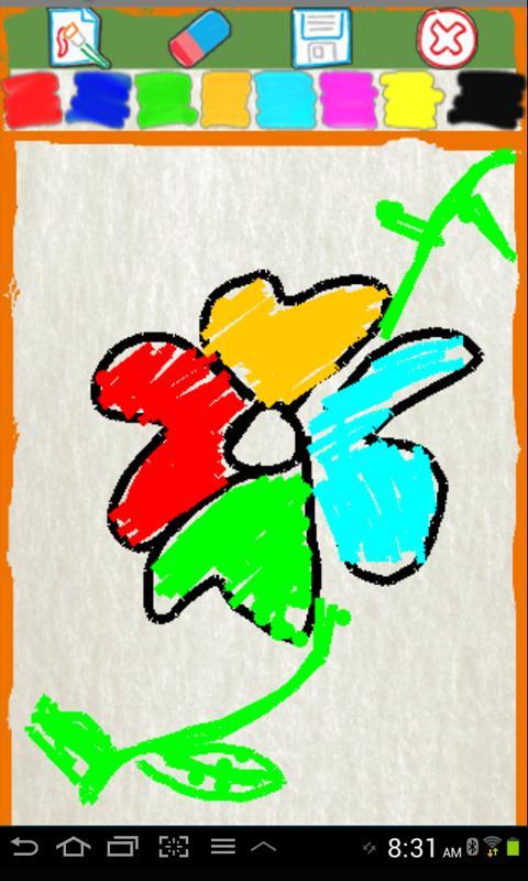 กระดานวาดภาพสำหรับเด็ก - screenshot