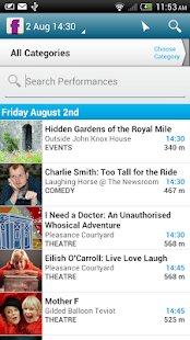 Edinburgh Festival Fringe - screenshot thumbnail