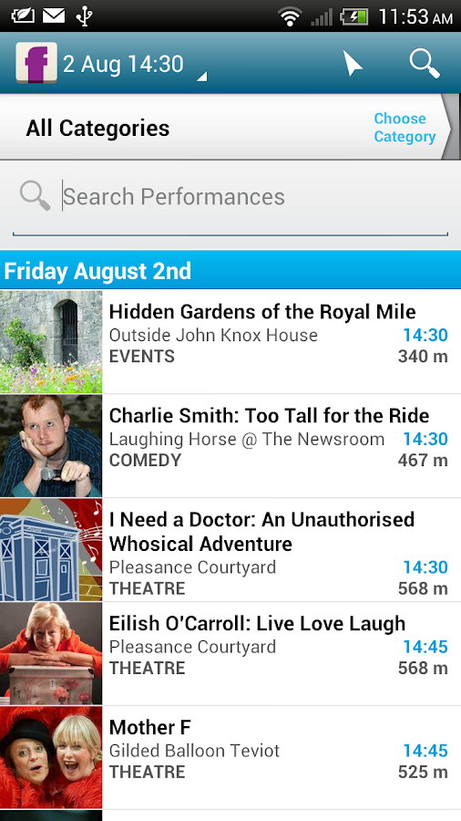 Edinburgh Festival Fringe - screenshot