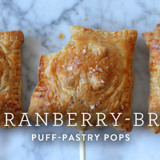 Cranberry-Brie Puff-Pastry Pops Recipe