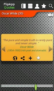 FlipApp Famous Quotes English- screenshot thumbnail