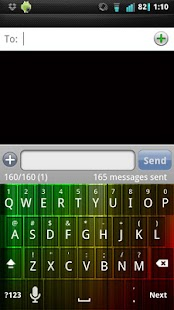 Pink and Black Keyboard Skin APK - Android APK Download