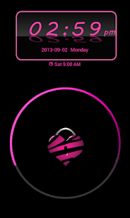 Pink Zebra Theme 4 GO Locker - screenshot thumbnail