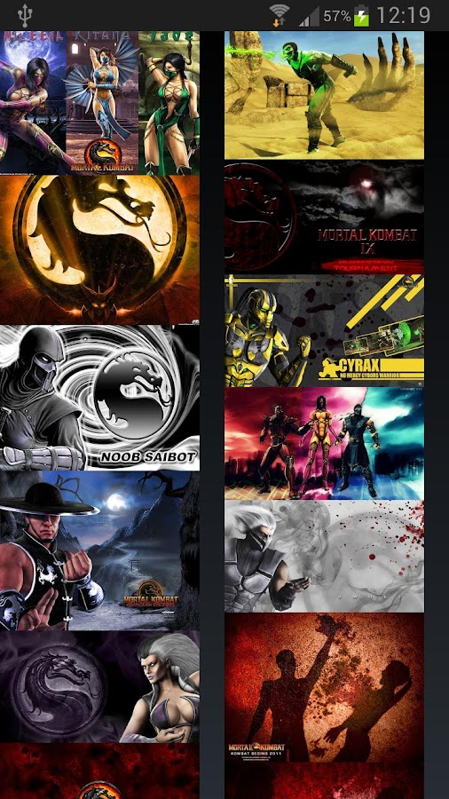 Mortal Kombat Wallpapers - screenshot