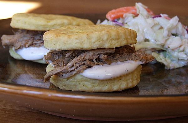 Alabama Pulled Pork Sandwiches with White Barbecue Sauce Recipe