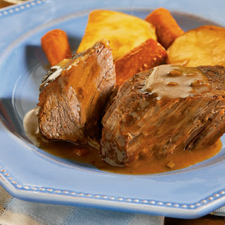 Slow Cooker Savory Pot Roast.