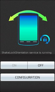 Shake - Lock Orientation - screenshot thumbnail