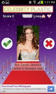 Celebrity Plastic - screenshot thumbnail