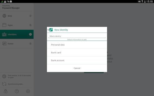 Kaspersky Password Manager - screenshot thumbnail