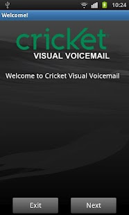 Cricket Visual Voicemail - screenshot thumbnail