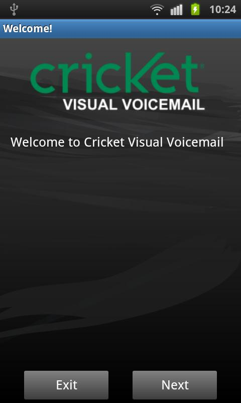 Cricket Visual Voicemail - screenshot
