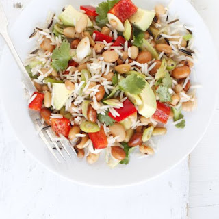 Mexican Rice & Bean Salad.