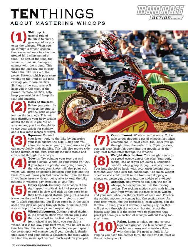 Motocross Action Magazine- screenshot