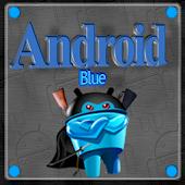 Blue Android Next Launcher 3D