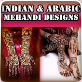 Indian & Arabic Mehndi Designs