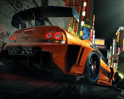 GTR超級跑車壁紙