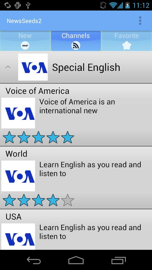LearnEnglish:NewsSeeds2 - screenshot