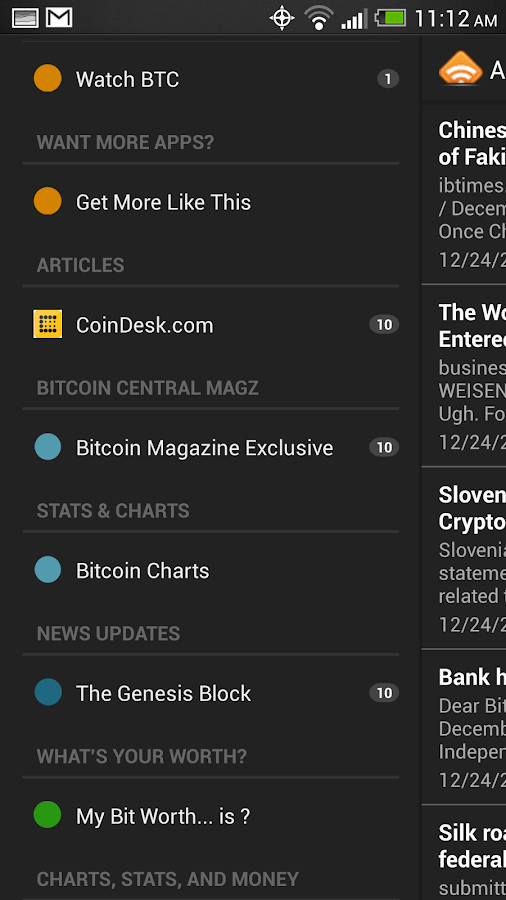 Bitcoin Buzz News - screenshot