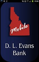 Screenshot of D.L. Evans Bank Mobile Banking