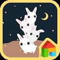the moon rabbit dodol theme icon