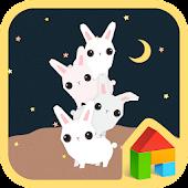 the moon rabbit dodol theme
