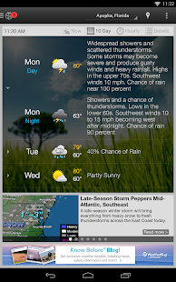 WeatherBug Screenshot 33