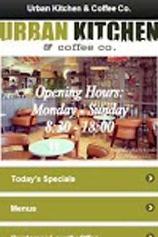 玩商業App|Urban Kitchen & Coffee Co免費|APP試玩