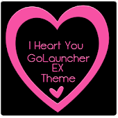 IHeartYou GoLauncher EX Theme