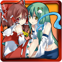 Reimu and Sanae's TOUHOU pop icon