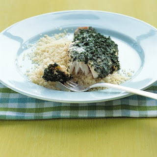 Herb-Crusted Snapper.