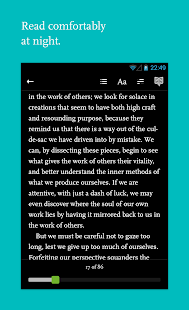 Readmill – ebook reader - screenshot thumbnail