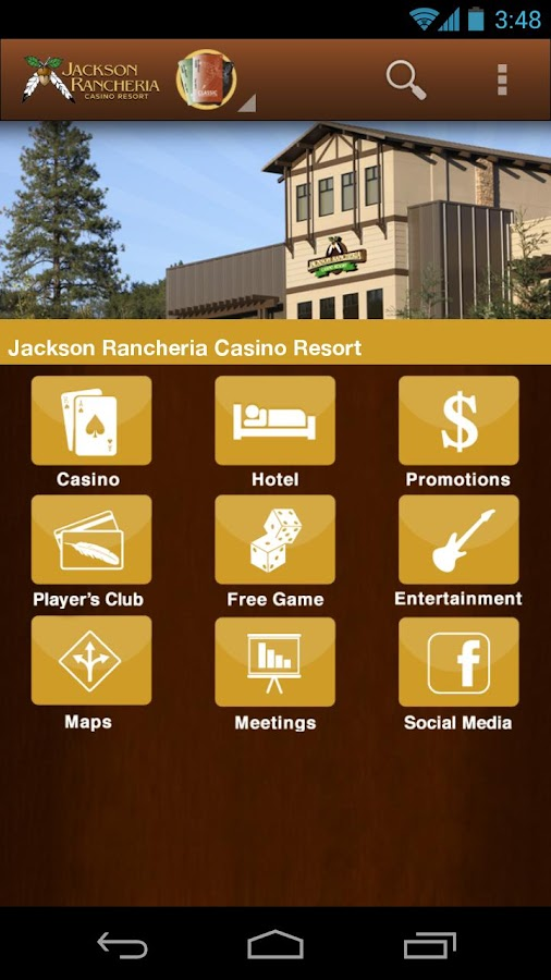 Jackson Rancheria Casino - screenshot