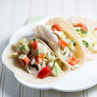 Fish Tacos with Wilted Cabbage Recipe