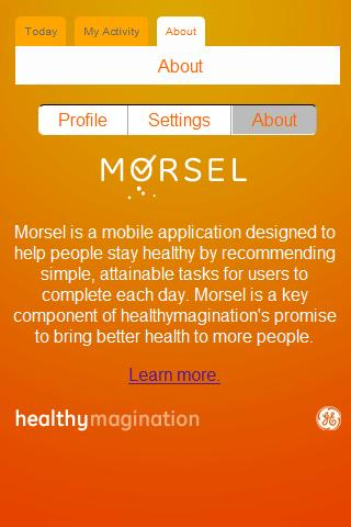 Morsel 2.0 - screenshot